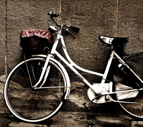 Bicycle At Stand