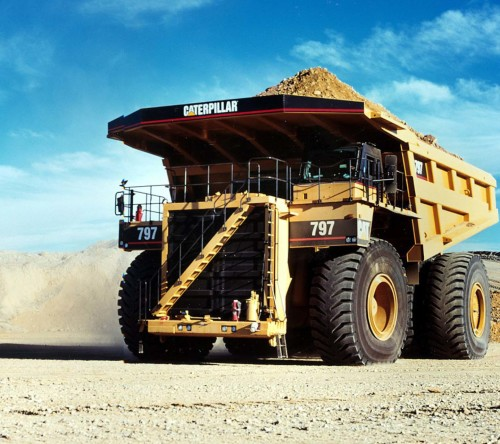 Caterpillar Dump Truck Huge