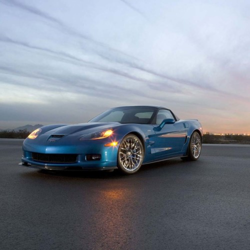 Corvette Blue Left Side