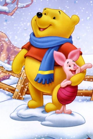 Winnie The Pooh In Snow