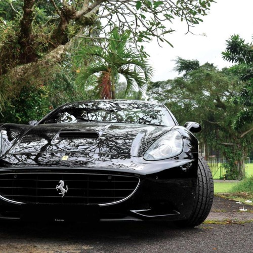 Ferrari California Front Black