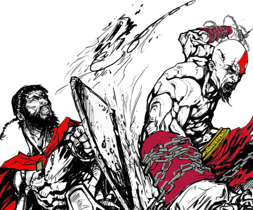 God Of War Vs 300