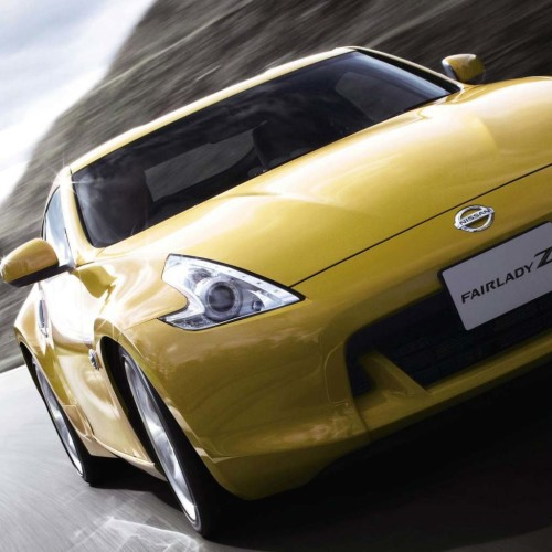 Nissan Fairlady Yellow