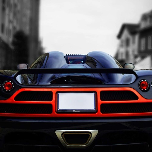 Pagani Back Lights And Muffler