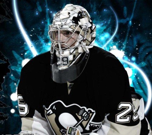 Marc Andre Fleury-Pittsburgh Penguins