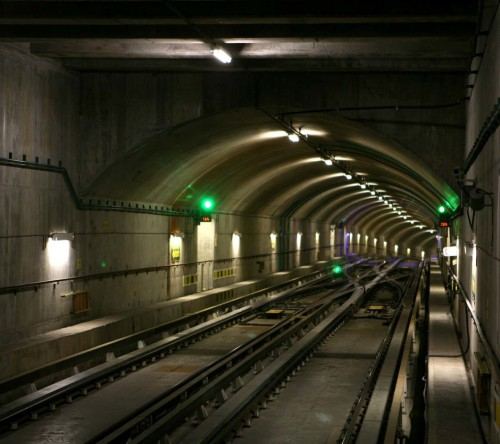Subway Tunnel Well Designed