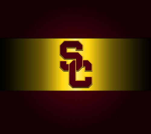 Black And Yellow-Logo of USC