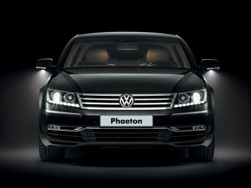 Volkswagen Phaeton Hot Black