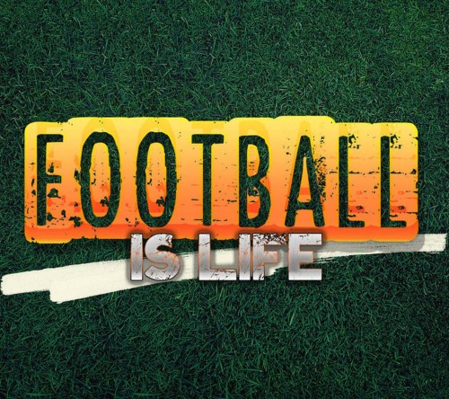 Football Is Life Orange