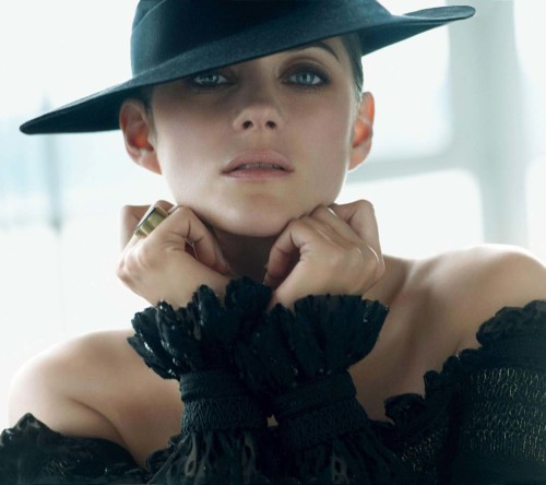 Marion Cotillard In Hat