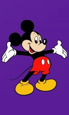 mickey mouse happy face