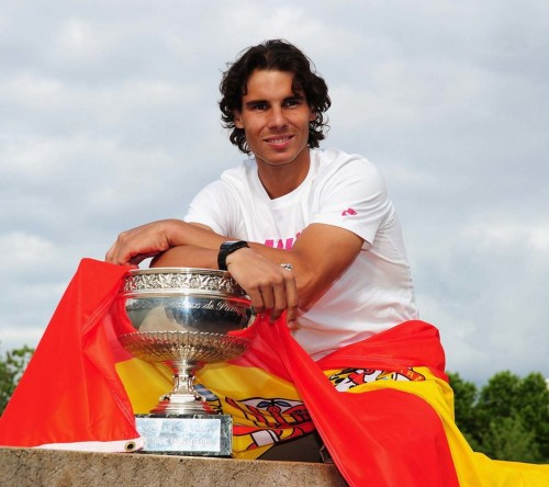 Nadal With Cup