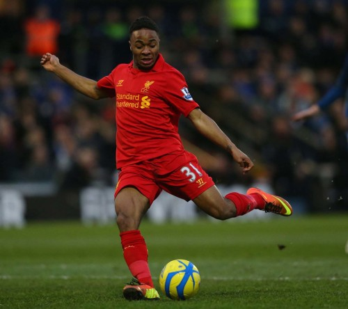Liverpool Player-Sterling