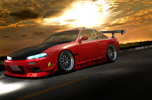 Low BBS Silvia Tyres